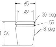 ER16 Coolant Collet 4mm