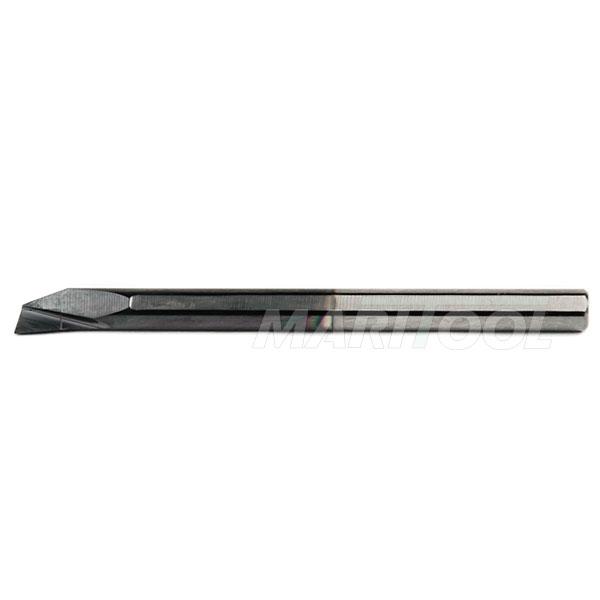 Carbide Shank Boring Bars : Solid carbide boring bar shank tialn coated made